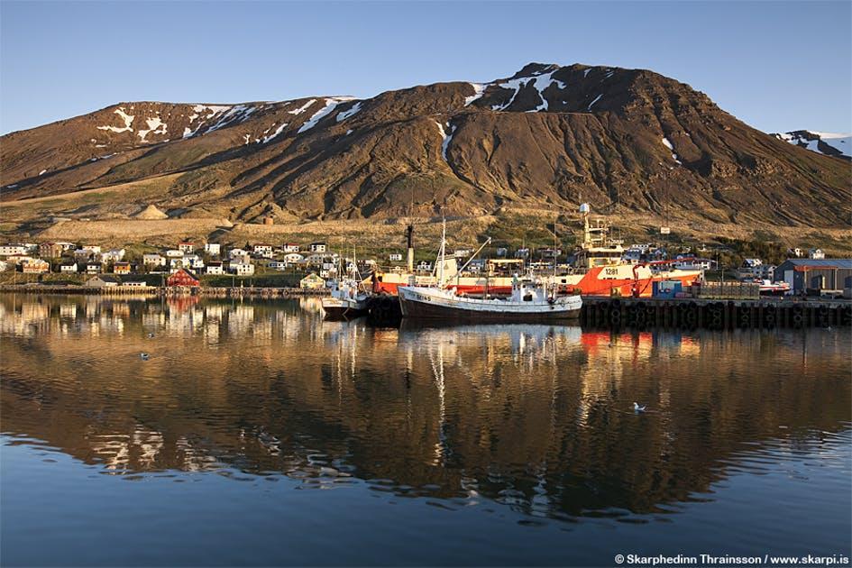 fjnords en islande
