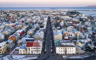 La ville de Reyjkavik