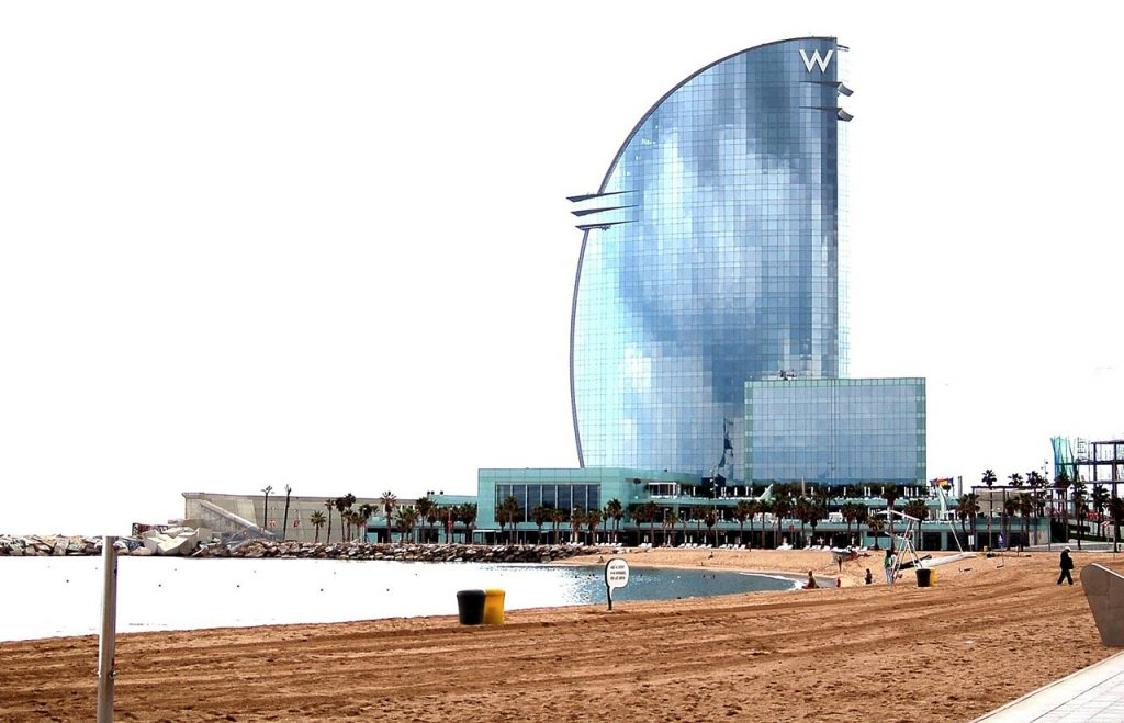 plage barcelone