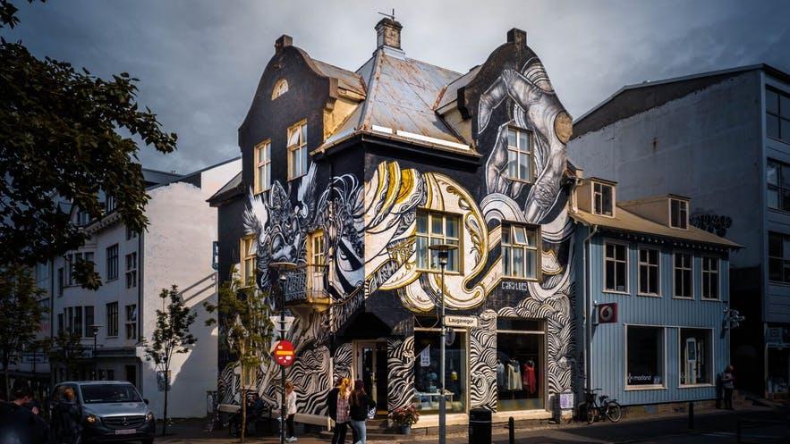 Street Art rue Reykjavik